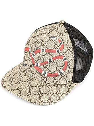 d34d09b5 Gucci Kingsnake GG Supreme cap - Multicolour