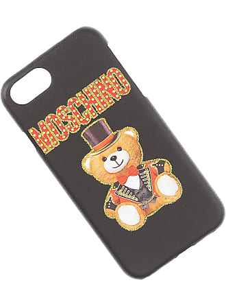 Moschino iPhone Cases On Sale, Black, plastic, 2017, One size