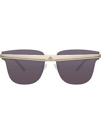 995bc1e710939e Linda Farrow lunettes de soleil United Nude 2 C1 D-Frame - Métallisé