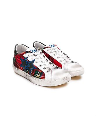 2Star TEEN lace-up sneakers - Vermelho