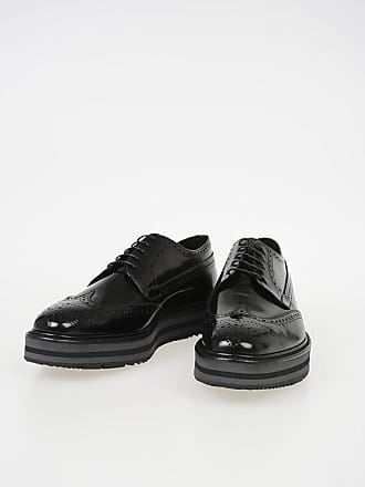 Prada 4cm Derby with Platform and Burguing size 6