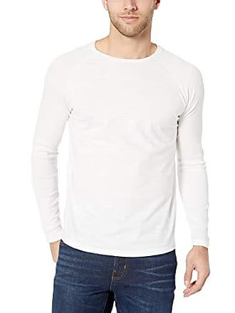 add1a9c10 HUGO BOSS BOSS Mens Terell Long Sleeve Raglan T-Shirt, White, M