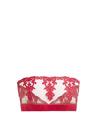 c6d2d079f048 Fleur Of England Fleur Of England - Wallflower Boudoir Floral Lace  Strapless Bra - Womens -