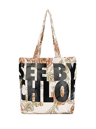 See By Chloé floral shopping bag - Neutro