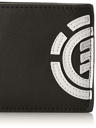 Element Mens Daily Wallet, Black (Flint Black), 10 Centimeters