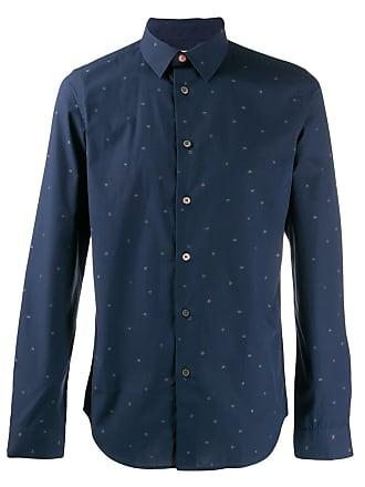 Paul Smith shape print shirt - Azul
