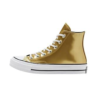 scarpe converse donna gialle