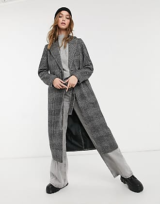Grau 40 Herstellergr/ö/ße: 14 Light Grey 2 New Look Damen Gabrielle Belted Coat: 2: s14 Mantel