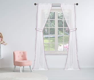 38x84 Duck River Solid Blackout Curtain for Bedroom Lavender 2 Pieces
