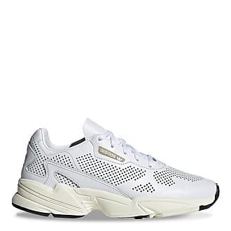 adidas Originals White Falcon sneakers