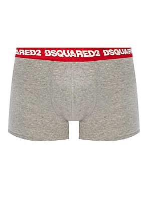 DSquared2 3-Pack Jersey Cotton Stretch Low-rise Men/'s Briefs Black
