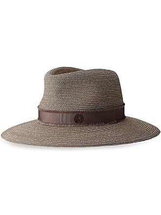 breite Krempe Lanzom Fedora-Hut f/ür Damen Panamahut klassischer Stil mit G/ürtelschnalle
