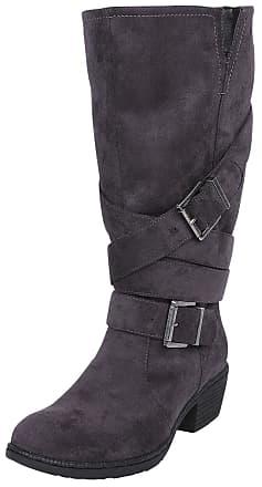 Dames Black Premium by EMP Leren Laarzen | Stylight