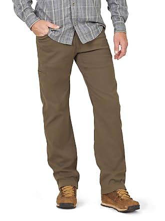 "Men`s WRANGLER Flannel Lined Cargo Trousers Size W34/""-L34/"" Pants"