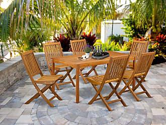 Patio, Lawn & Garden Dining Sets ghdonat.com East West Furniture ...