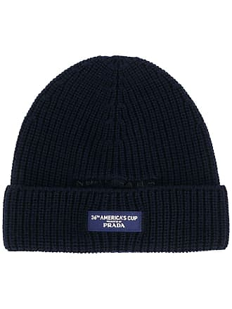 North Sails logo-patch beanie - Azul