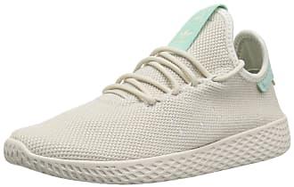adidas Originals Womens PW Tennis HU Running Shoe, Talc/Talc/Chalk White, 10 M US