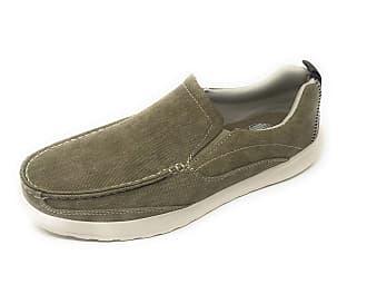 Margaritaville Mens Upbrush Leather Slip on Shoe Loafer