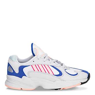 adidas Originals White Yung 1 sneakers