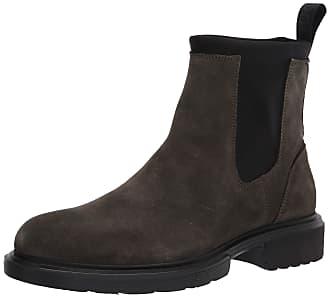 Mod Made in Italy Dark Brown Parmel 42 // UK 8 HUGO BOSS Chelsea Boots Gr
