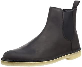 clarks black chelsea boots mens