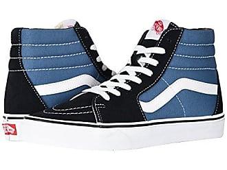Men's Blue Vans High Top Sneakers: 30