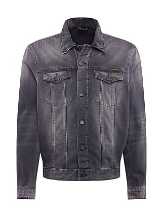 Nudie Jeans Bonny Denim Pile Jacket Blue Shine hos