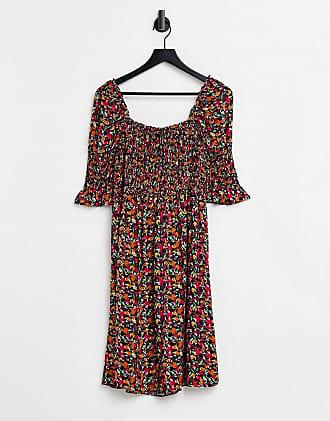 YAS Damen Yasbloomi Ankle Dress Ft Kleid