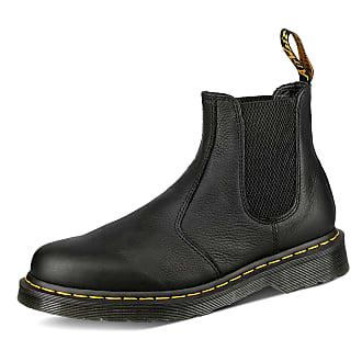 dr martens chelsea boots mens black