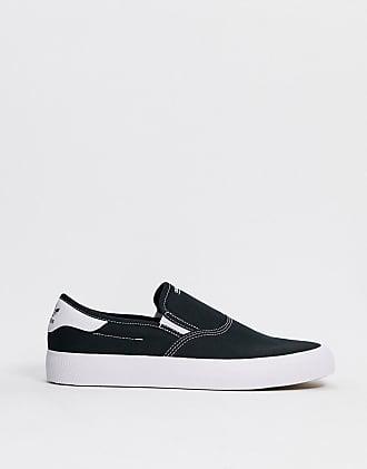 adidas Originals 3MC Slip on sneakers in black and white