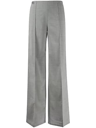 Pringle Of Scotland Calça pantalona - Cinza