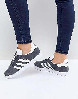 adidas Originals gazelle sneakers in gray-Grey