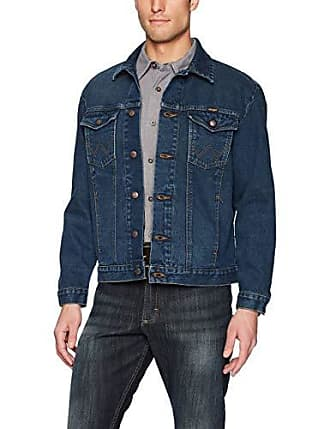 Uqiangy Mens Classic Button Front Rugged Sherpa Lined Denim Trucker Jackets Big and Tall Sizes Outerwear