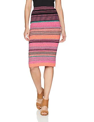 BCBGMAXAZRIA Womens Natalee Geometric Jacquard Pencil Skirt