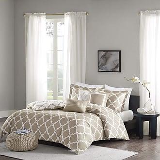 Tau Brown Madison Park Palisades Cal King Size Bed Comforter Set Bed In A Bag