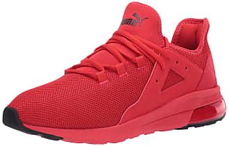 puma red shoes men