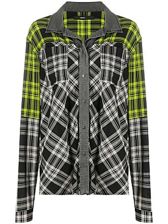 Diesel Camisa xadrez com mangas longas - Verde