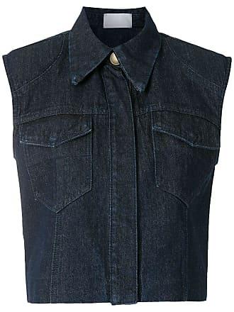Andrea Bogosian Colete jeans Som - Azul