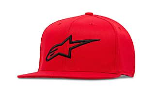 Sizes S-XL Black//White Alpinestars AGELESS Flat Bill Hat