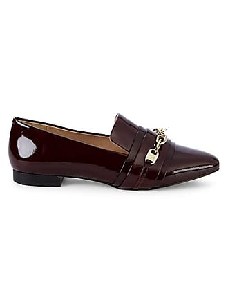 Karl Lagerfeld Niki Point-Toe Patent Leather Loafers