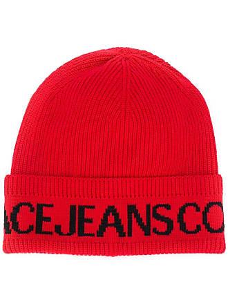 Versace Jeans Couture Gorro com estampa de logo - Vermelho