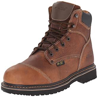 Black, 12 Breathable ADTEC Mens Black Lace Work Shoe Slip Resistant Composite Safety Toe Comfortable