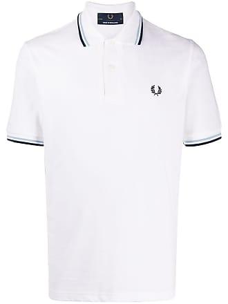 Fred Perry Camisa polo mangas curtas - Branco