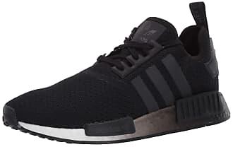 adidas Originals Womens NMD_R1 Sneaker, Black/Black/White, 10.5 M US