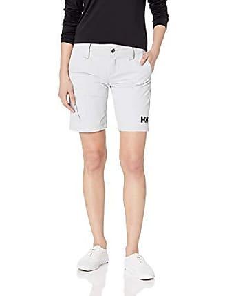 Durable Cargo Shorts Sun Protection Helly-Hansen Womens Quickdry 30 Grey Fog