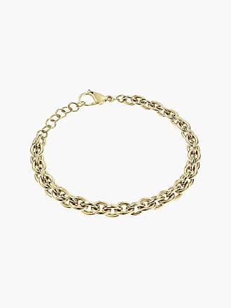 Armband mit gelben und goldenen Perlen NEU und rundem Anhänger Sommer dezent
