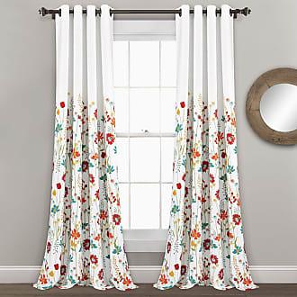 ORANGE CRISS CROSS Curtains-  Panels-Set of 2- Designer Window Panels Valance Unlined Grey on natural Shower Curtain Curtains