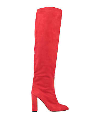 Rood Leren Laarzen: Shop tot −67% | Stylight