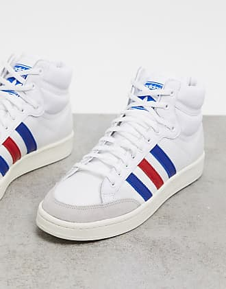 adidas bianche sneakers alte uomo