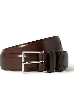 "Paul Smith  Mens Croc Effect Leather Belt 30/"" Brand New"